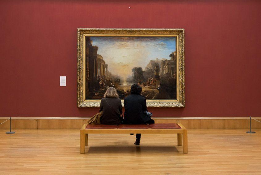 Fabian Fröhlich, Tate Britain, Joseph Mallord William Turner, The Decline of the Carthagian Empire