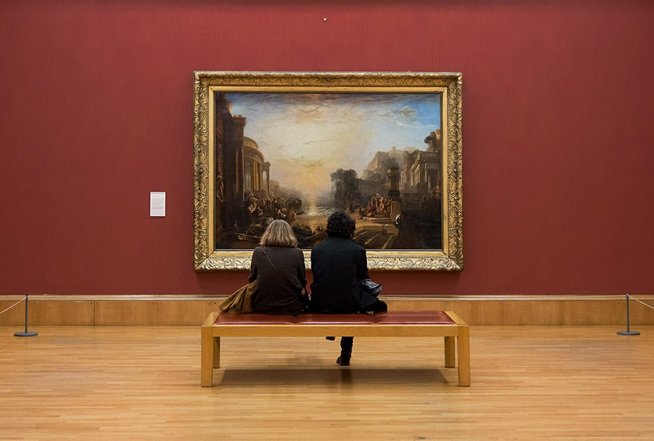 Fabian Fröhlich, Tate Britain, Joseph Mallord William Turner, The Decline of the Carthagian Empire