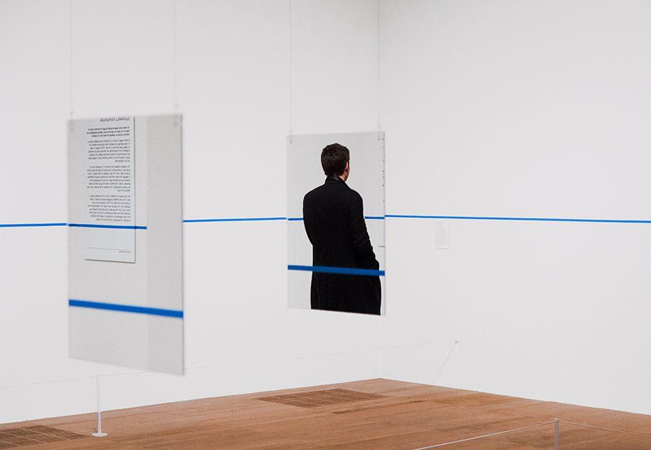 Fabian Fröhlich, Tate Modern London, Edward Krasiński, Untitled