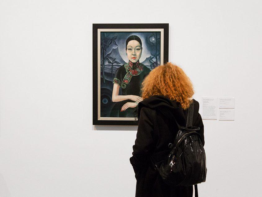 Fabian Fröhlich, Tate Modern London, Herbert Hirschberg, Japanische Dame