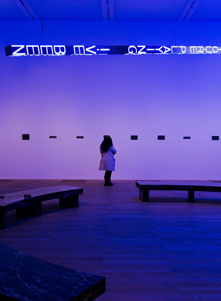 Fabian Fröhlich, Tate Modern London, Jenny Holzer, FLOOR
