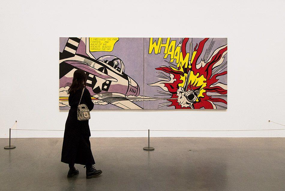 Fabian Fröhlich, Tate Modern London, Roy Lichtenstein, Whaam!