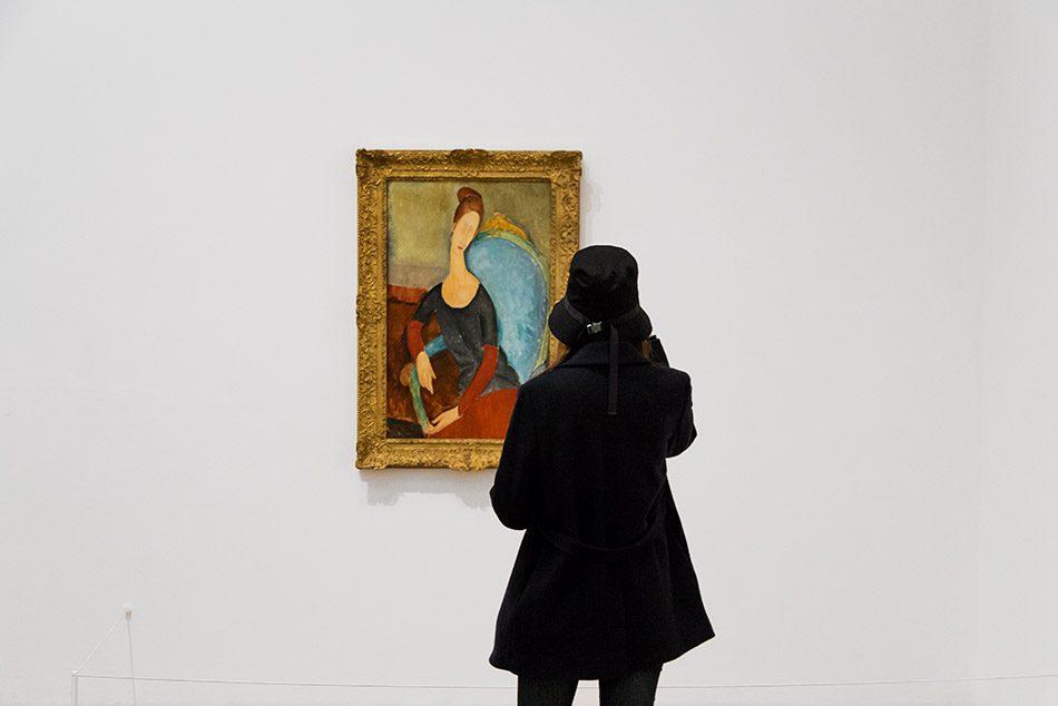 Fabian Fröhlich, Tate Modern London, Amedeo Modigliani, Portrait Jeanne Hébuterne