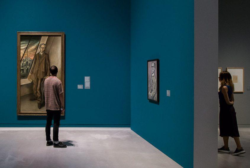 Fabian Fröhlich, Berlinische Galerie, Otto Dix, Der Dichter Iwar von Lücken