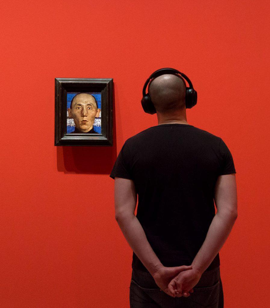 Fabian Fröhlich, Berlinische Galerie, Lotte Laserstein, Mongol