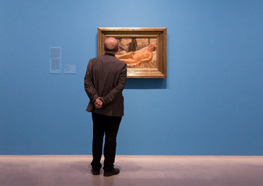 Fabian Fröhlich, Berlinische Galerie, Lotte Laserstein,, In meinem Atelier