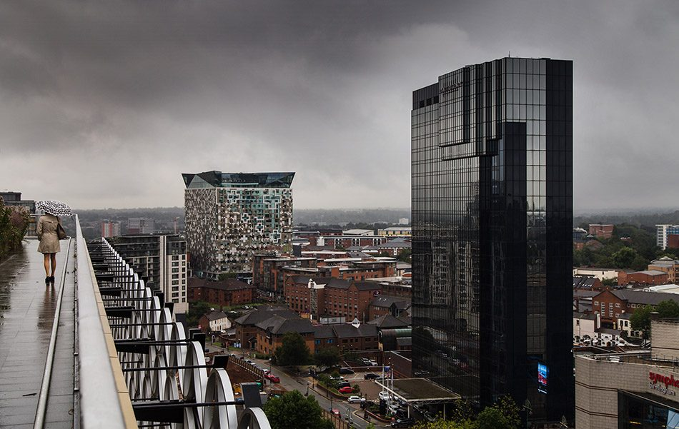 Fabian Fröhlich, Birmingham, View from the terrace of the Library of Birmingham
