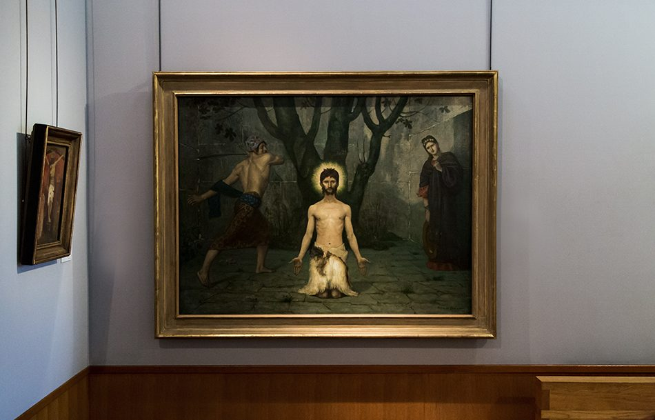 Fabian Fröhlich, Birmingham, Pierre Puvis de Chavannes, The Beheading of Saint John the Baptist (Barber Institute of Fine Arts)