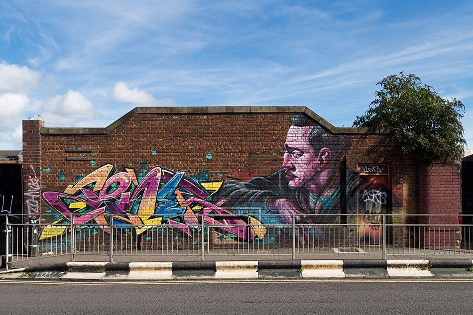 Fabian Fröhlich, Birmingham, Street Art in Bradford Street