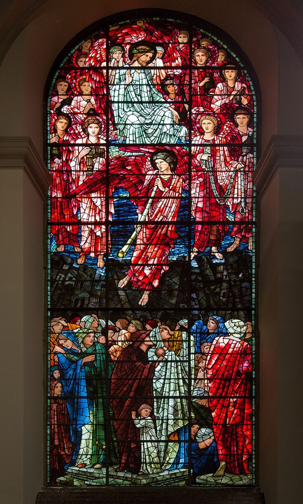 Fabian Fröhlich, Birmingham, West window of Birmingham Cathedral with the Last Judgement by Edward Burne-Jones