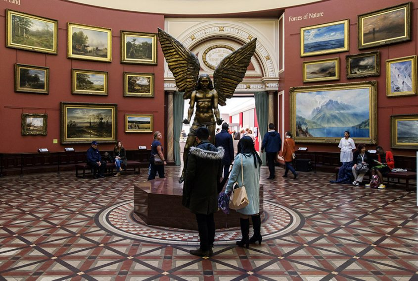 Fabian Fröhlich, Birmingham Museum & Art Gallery, Jacob Epstein, The Archangel Lucifer