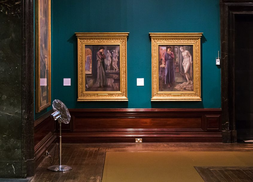 Fabian Fröhlich, Birmingham Museum & Art Gallery, Edward Burne-Jones, The Heart Desires / The Hand Refrains, (first and second of the Pygmalion)