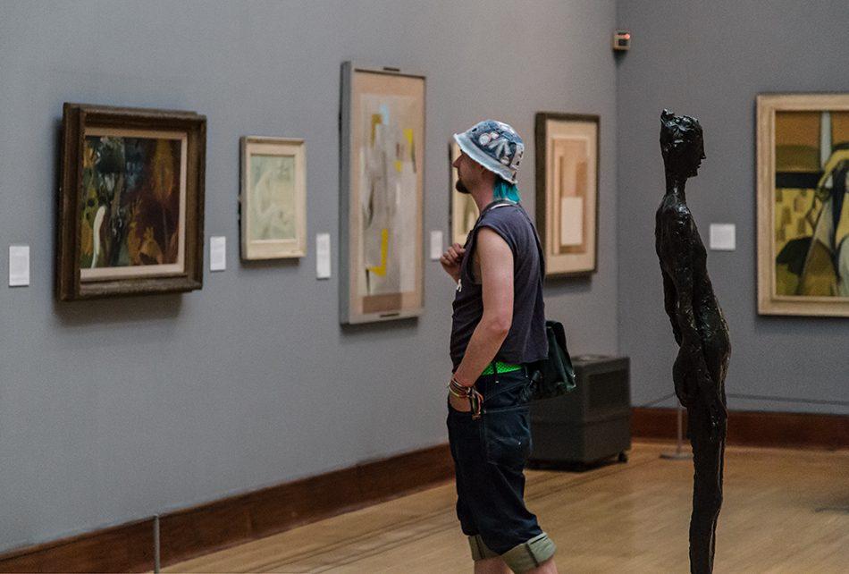 Fabian Fröhlich, Birmingham Museum & Art Gallery, Germaine Richier, La Feuille