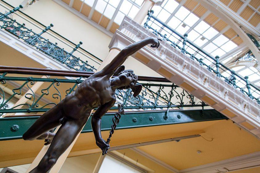 Fabian Fröhlich, Birmingham Museum & Art Gallery, Flying mercury at the Industrial Hall