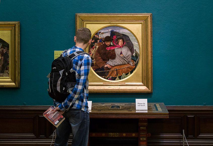 Fabian Fröhlich, Birmingham Museum & Art Gallery, Ford Madox Brown, The Last of England