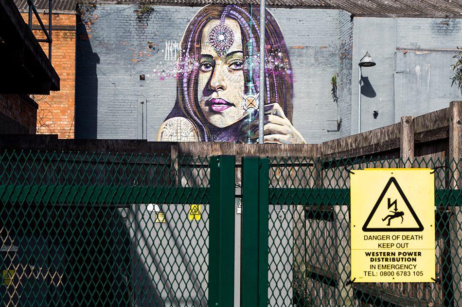 Fabian Fröhlich, Birmingham, Street Art, rea Street