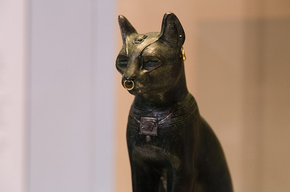 Fabian Fröhlich, British Museum, The Gayer-Anderson Cat (representation of the goddess Bastet)