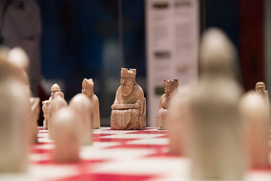 Fabian Fröhlich, British Museum, King of the Lewis Chessmen