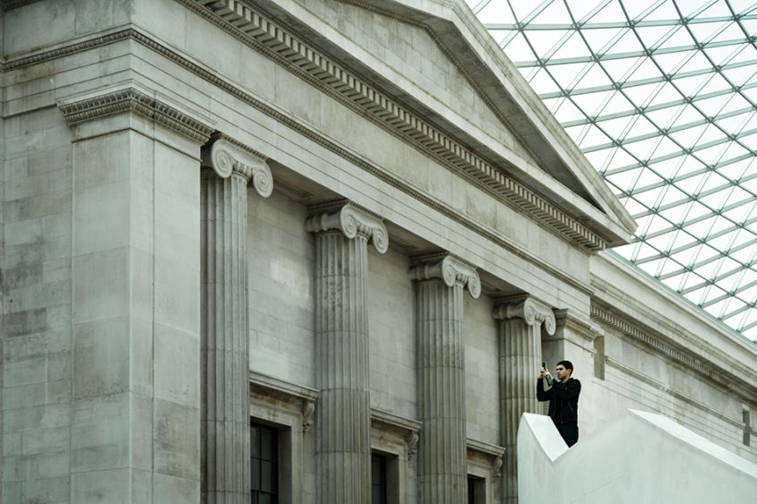 Fabian Fröhlich, British Museum, Great Court