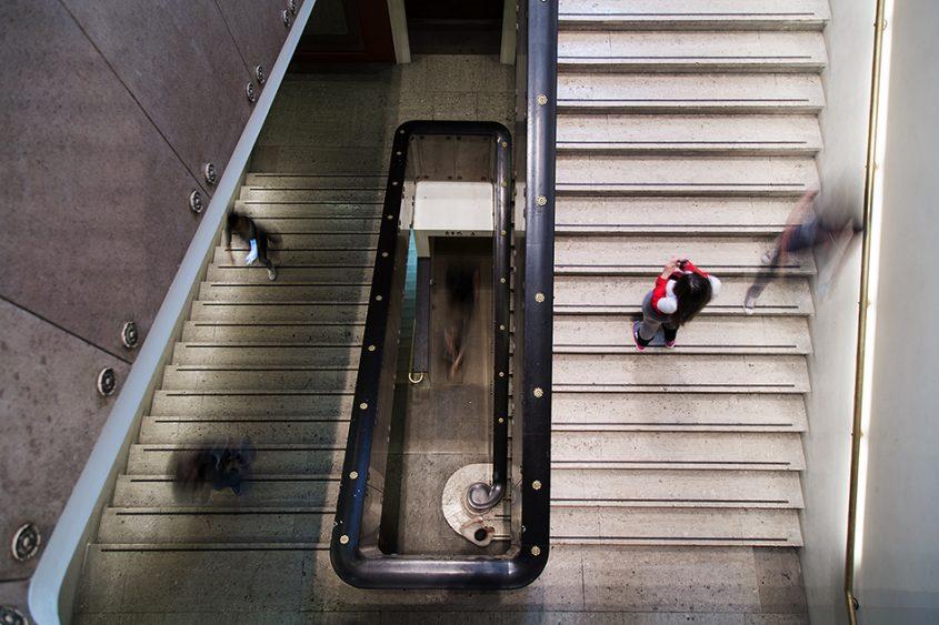 Fabian Fröhlich, British Museum, North Stairs