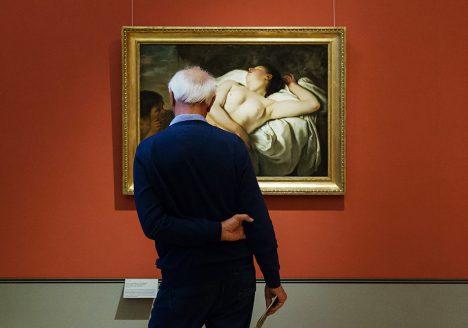 Fabian Fröhlich, Herzog Anton Ulrich-Museum Braunschweig, Jan Gerritsz. van Bronckhorst, Schlafendes Mädchen mit Hirt
