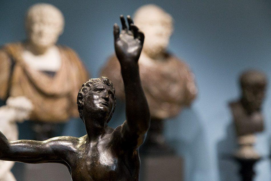 Fabian Fröhlich, Herzog Anton Ulrich-Museum Braunschweig, Mann mit erhobenen Armen (Fliehender)