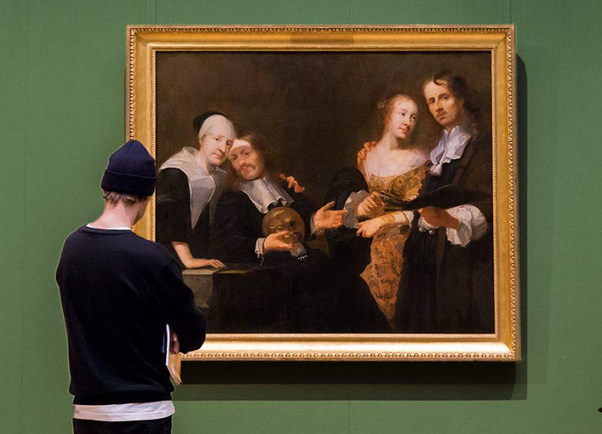 Fabian Fröhlich, Herzog Anton Ulrich-Museum Braunschweig, Joachim Luhn, Selbstbildnis mit Familie