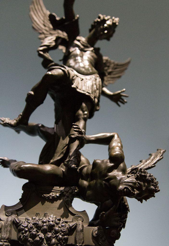 Fabian Fröhlich, Herzog Anton Ulrich-Museum Braunschweig, Caspar von Turkelsteyn nach Hans Reichle, Der Erzengel Michael siegt über den Teufel