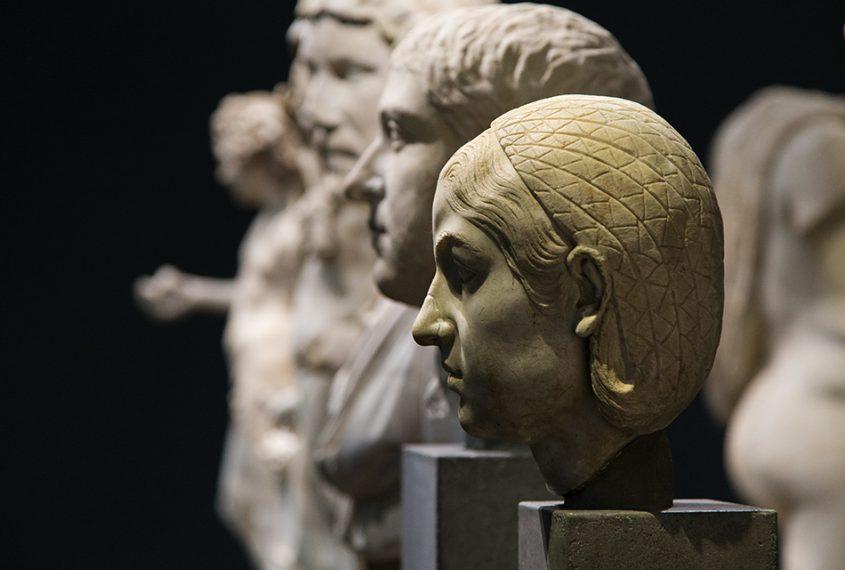 Fabian Fröhlich, Herzog Anton Ulrich-Museum Braunschweig, Römische Porträtbüsten