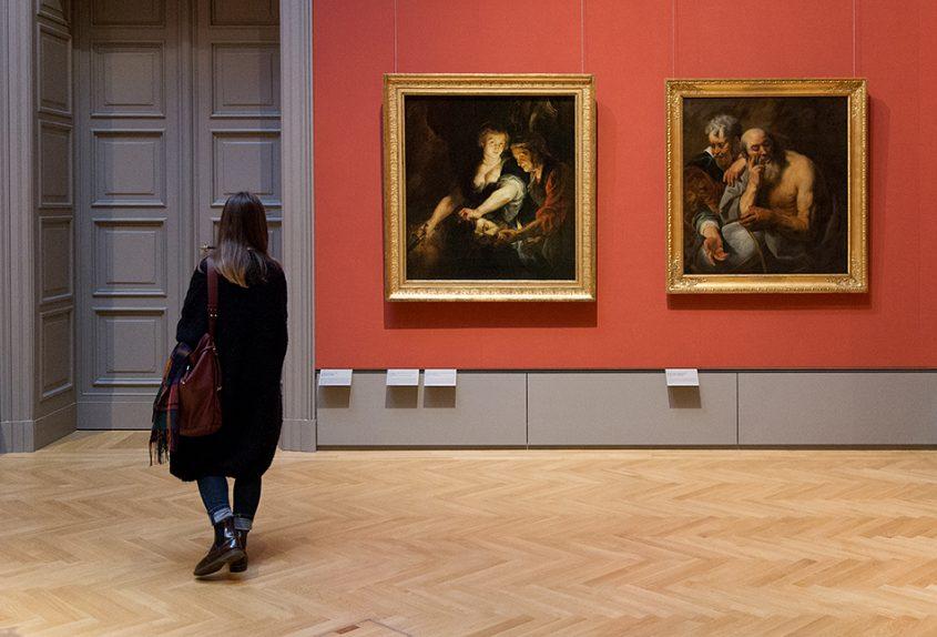 Fabian Fröhlich, Herzog Anton Ulrich-Museum Braunschweig, Peter Paul Rubens, Judith mit dem Haupt des Holofernes; Jacob Jordaens, Demokrit und Heraklit