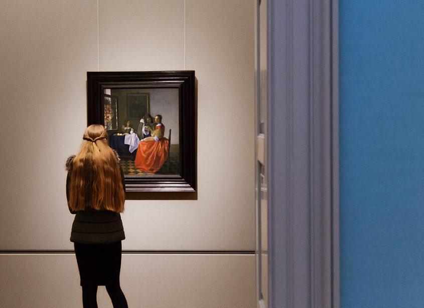 Fabian Fröhlich, Herzog Anton Ulrich-Museum Braunschweig, Jan Vermeer, Das Mädchen mit dem Weinglas