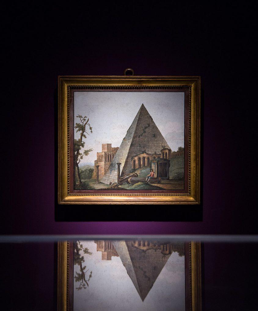 Fabian Fröhlich, Herzogliches Museum Gotha, Cestius-Pyramide