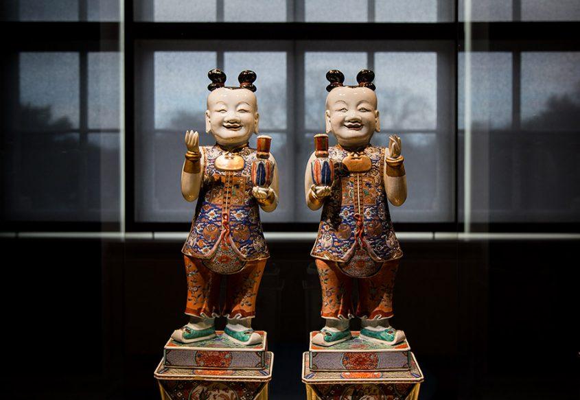 Fabian Fröhlich, Herzogliches Museum Gotha, Chinesische Genien der Eintracht und Harmonie