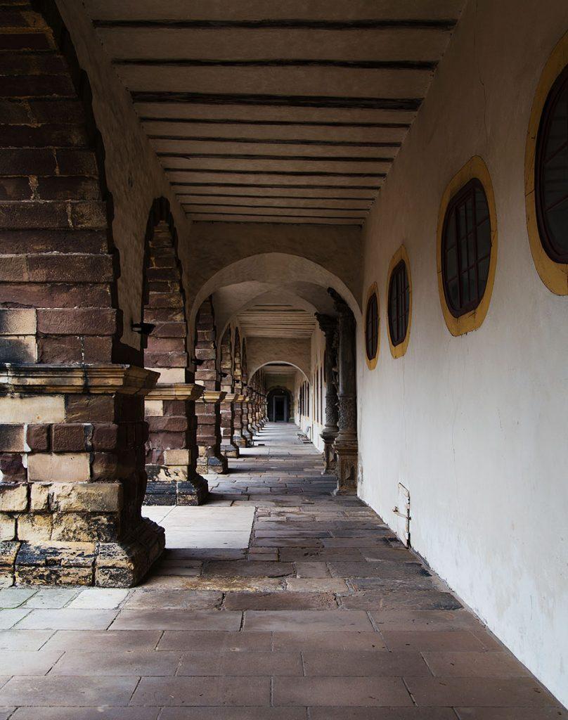 Fabian Fröhlich, Gotha, Schloss Friedenstein, Innenhof