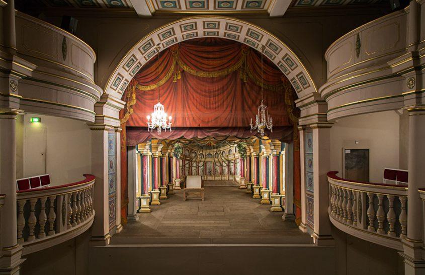 Fabian Fröhlich, Gotha, Schloss Friedenstein, Ekhof-Theater