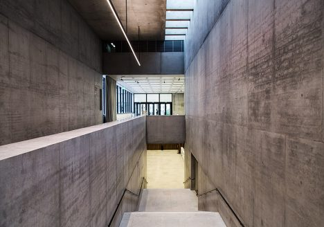 Fabian Fröhlich, James-Simon-Galerie, Berlin, David Chipperfield, Treppenhaus