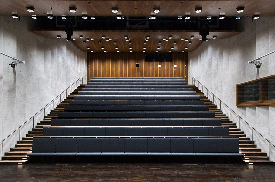 Fabian Fröhlich, James-Simon-Galerie, Berlin, David Chipperfield,, Auditorium