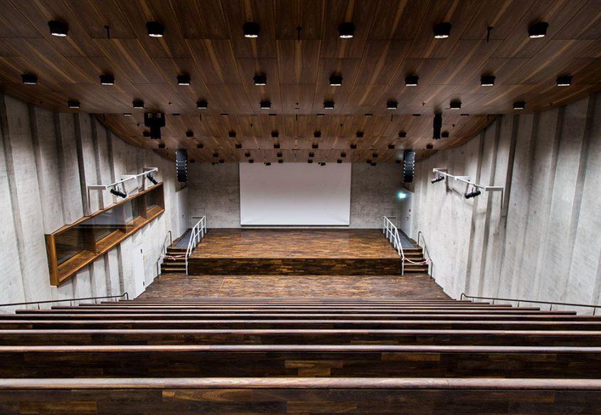 Fabian Fröhlich, James-Simon-Galerie, Berlin, David Chipperfield, Auditorium