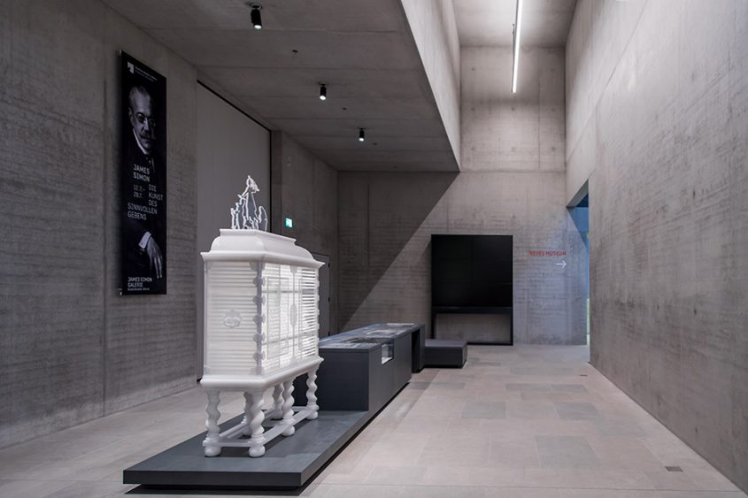 Fabian Fröhlich, James-Simon-Galerie, Berlin, David Chipperfield, Ausstellung Museumsinsel