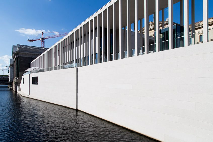 Fabian Fröhlich, James-Simon-Galerie, Berlin, David Chipperfield,