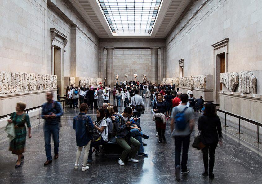 Fabian Fröhlich, British Museum, Parthenon sculptures gallery
