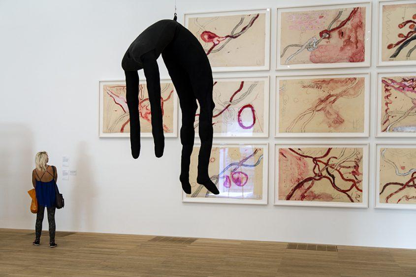 Fabian Fröhlich, Tate Modern, Louise Bourgeois, Single II / À L'Infini