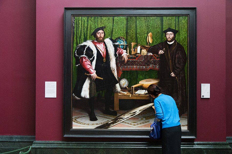 Fabian Fröhlich, National Gallery, London, Hans Holbein the Younger, Ambassadors