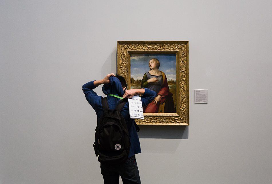 Fabian Fröhlich, National Gallery, London,