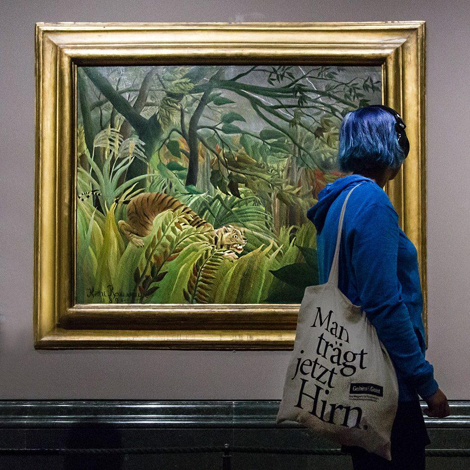 Fabian Fröhlich, National Gallery, London, Henri Rousseau, Surprised!