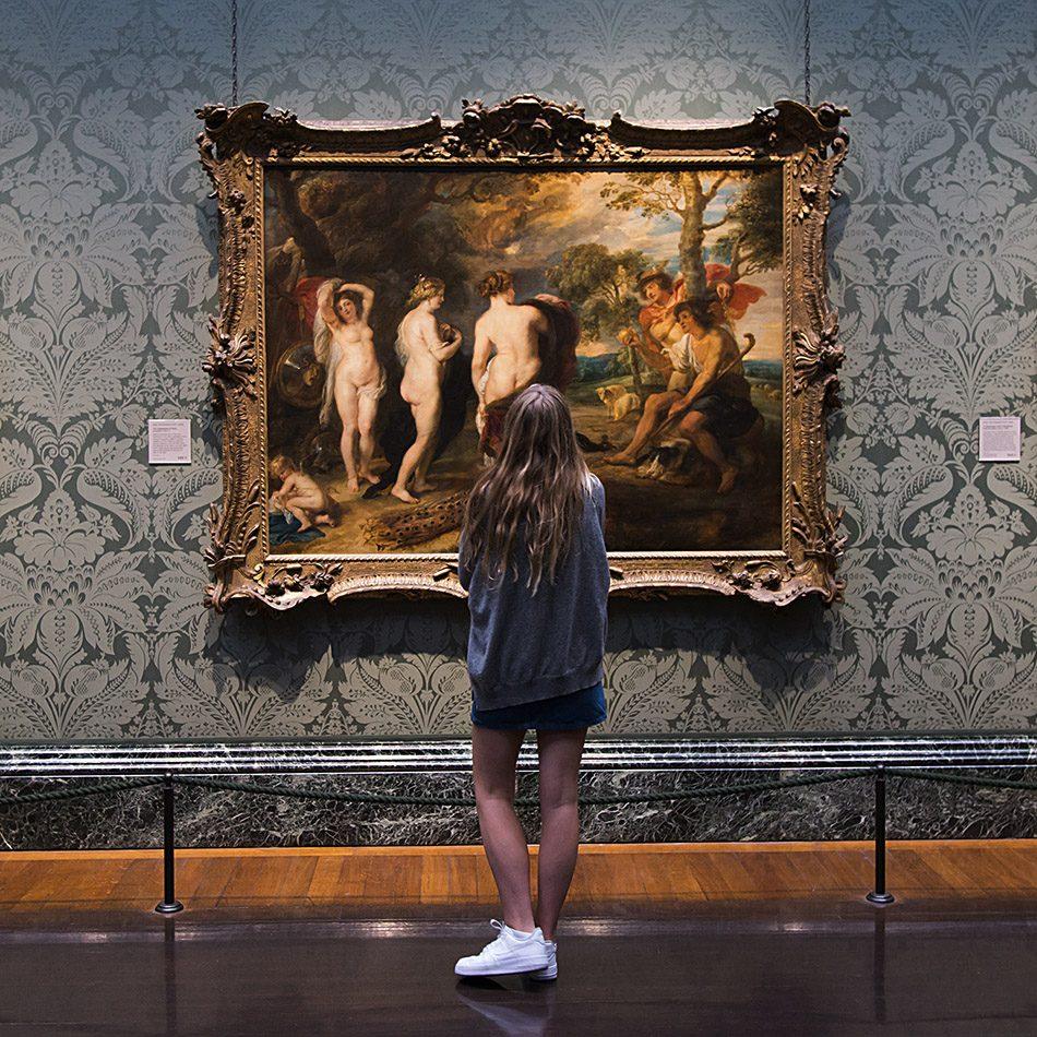 Fabian Fröhlich, National Gallery, London, Peter Paul Rubens, The Judgement of Paris