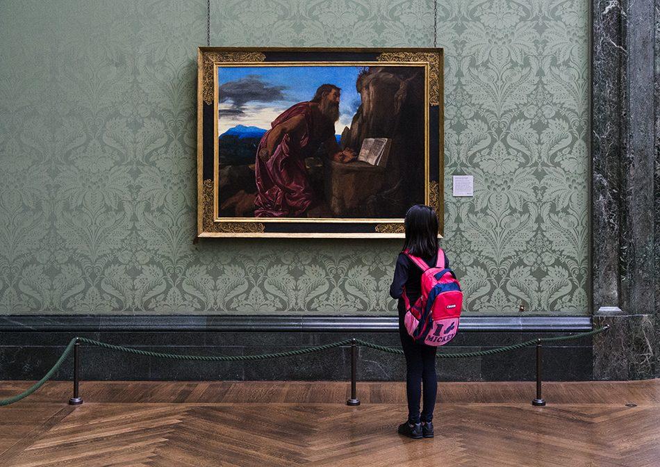 Fabian Fröhlich, National Gallery, London, Giovanni Girolamo Savoldo,, Hl Hieronymus