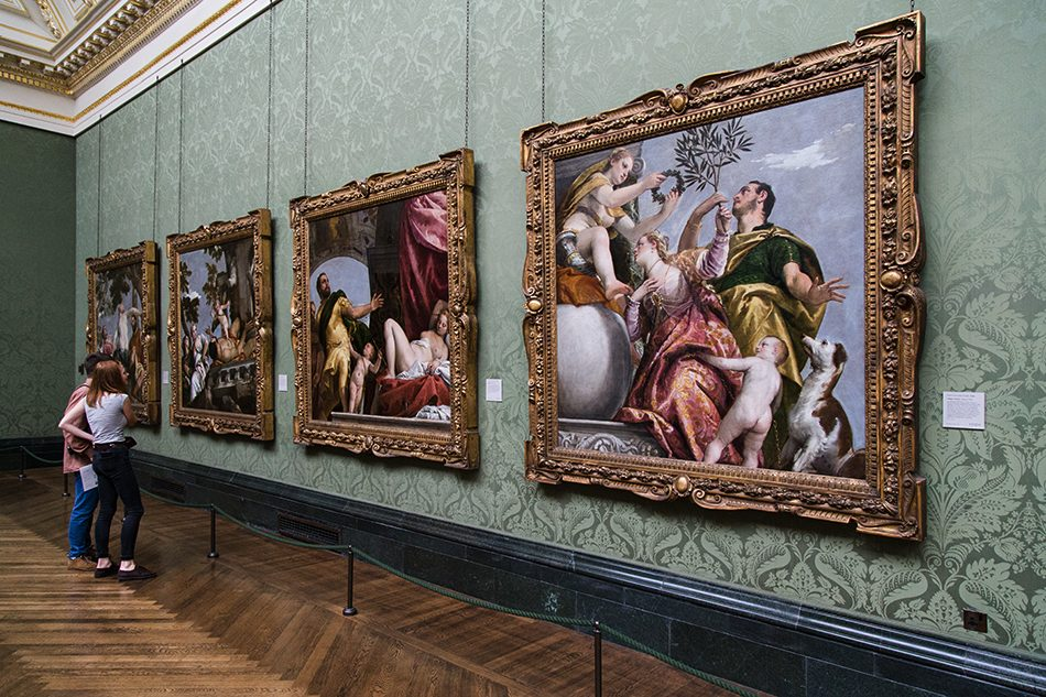 Fabian Fröhlich, National Gallery, London, Paolo Veronese., Four Allegories of Love