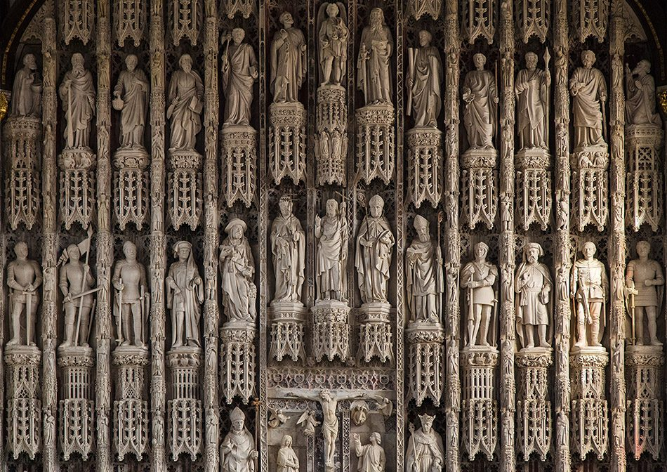 Fabian Fröhlich, Oxford, Reredos in the chapel of All Souls College