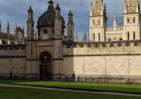Fabian Fröhlich, Oxford, Radcliffe Square and All Souls College